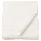 ВОГШЁН Простыня банная, белый, 100x150 см