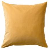 САНЕЛА Чехол на подушку, золотисто-коричневый, 50x50 см