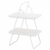 ВИГГИА Подставка для подноса, белый, 37x50x74 см