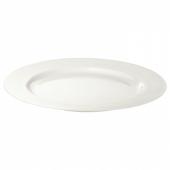 ОФАНТЛИГТ Тарелка десертная, белый, 22 см