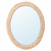 КРИСТИНЕЛУНД Зеркало, ротанг, 61x50 см
