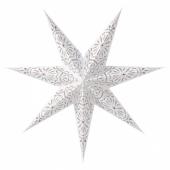 СТРОЛА Абажур, с печатным рисунком, кружево белый, 70 см