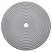 ДОППА Коврик для душа, темно-серый, 46 см