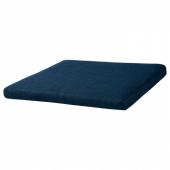 ПОЭНГ Подушка-сиденье на табурет для ног, Шифтебу темно-синий