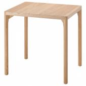 РОВАРОР Стол обеденный, дубовый шпон, 60x78 см