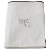 ВЭДРА Чехол на пеленальную подстилку, кролик, белый, 74x80 см