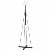 ЧУСИГ Вешалка, черный, 193 см