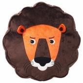 ДЬЮНГЕЛЬСКОГ Подушка, лев, коричневый