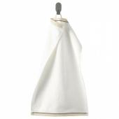 ВИКФЬЕРД Полотенце, белый, 30x50 см