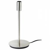 СКАФТЕТ Основание настольной лампы, никелированный, 30 см