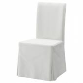 ХЕНРИКСДАЛЬ Чехол для стула, длинный, Блекинге белый