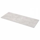 ЭКБАККЕН Столешница, светло-серый под бетон, ламинат, 246x2.8 см