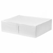 СКУББ Сумка для хранения, белый, 69x55x19 см