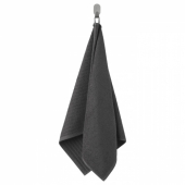 ВОГШЁН Полотенце,темно-серый