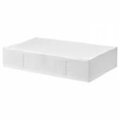СКУББ Сумка для хранения, белый, 93x55x19 см