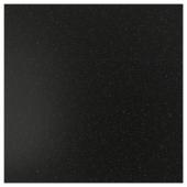 СИББАРП Настенная панель под заказ, черный под минерал, ламинат, 1 м²x1.3 см