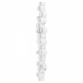 СЁДЕРСВИК Бра, светодиодный, регулируемая яркость полированный, белый, 70x10 см