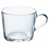 ИКЕА/365+ Кружка, прозрачное стекло, 24 сл