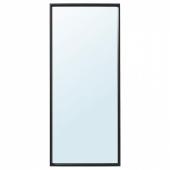 НИССЕДАЛЬ Зеркало, черный, 65x150 см