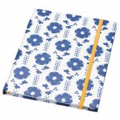АНИЛИНАРЕ Книжка для записей, белый, синий, 20x16 см