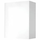 КНОКСХУЛЬТ Навесной шкаф с дверцей, глянцевый, белый, 60x75 см