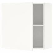 КНОКСХУЛЬТ Навесной шкаф с дверцей, белый, 60x60 см
