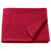 ВОГШЁН Банное полотенце, красный, 70x140 см