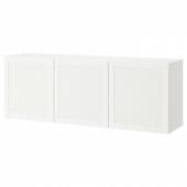 БЕСТО Комбинация настенных шкафов, белый, Ханвикен белый, 180x42x64 см
