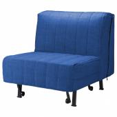 ЛИКСЕЛЕ Кресло-кровать, Шифтебу темно-синий